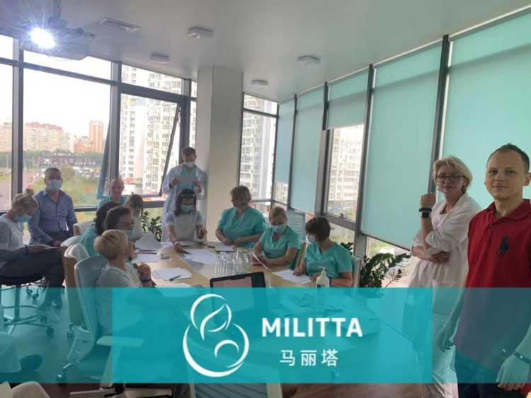 乌克兰马丽塔医疗团队